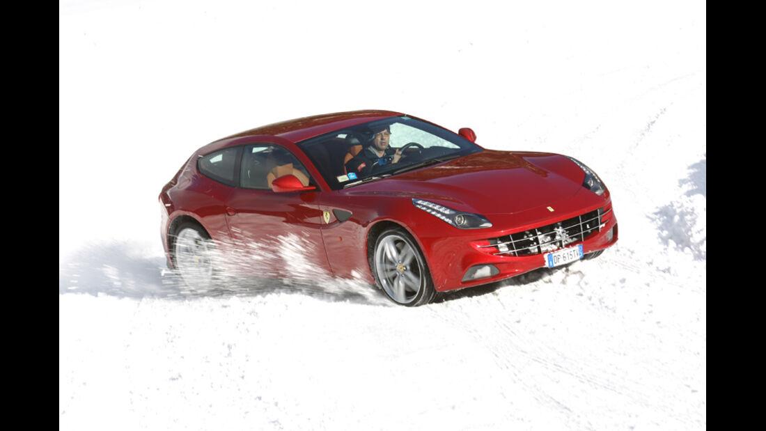 Ferrari FF, Front