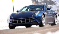 Ferrari FF, Frontansicht, Fahrt