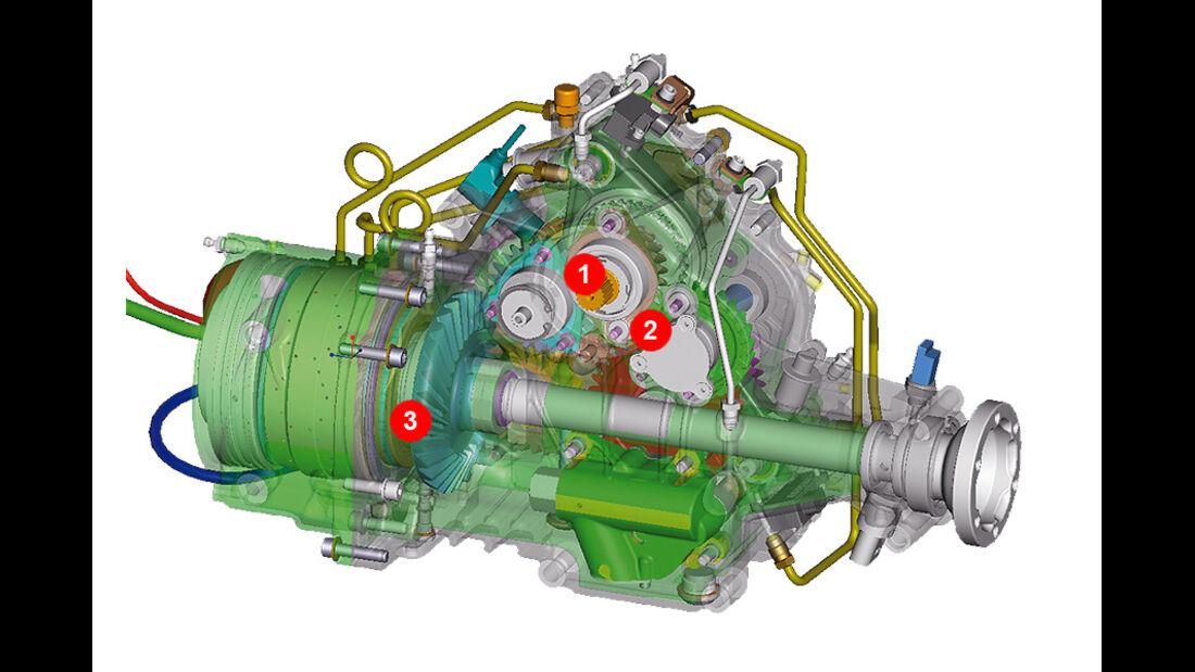 Ferrari FF, Grafik, Motor