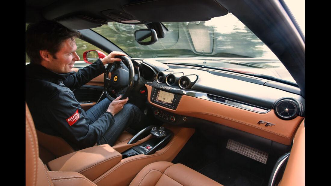 Ferrari FF, Innenraum