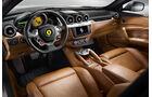 Ferrari FF, Innenraum, Rücksitze
