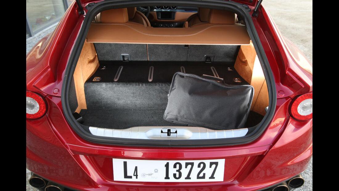 Ferrari FF, Kofferraum