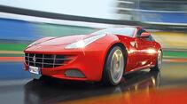 Ferrari FF, Kühlergrill, Front