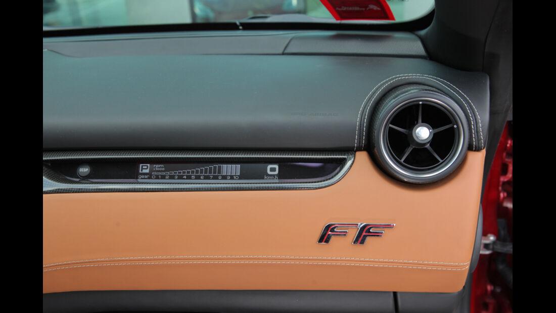 Ferrari FF, Lüftung