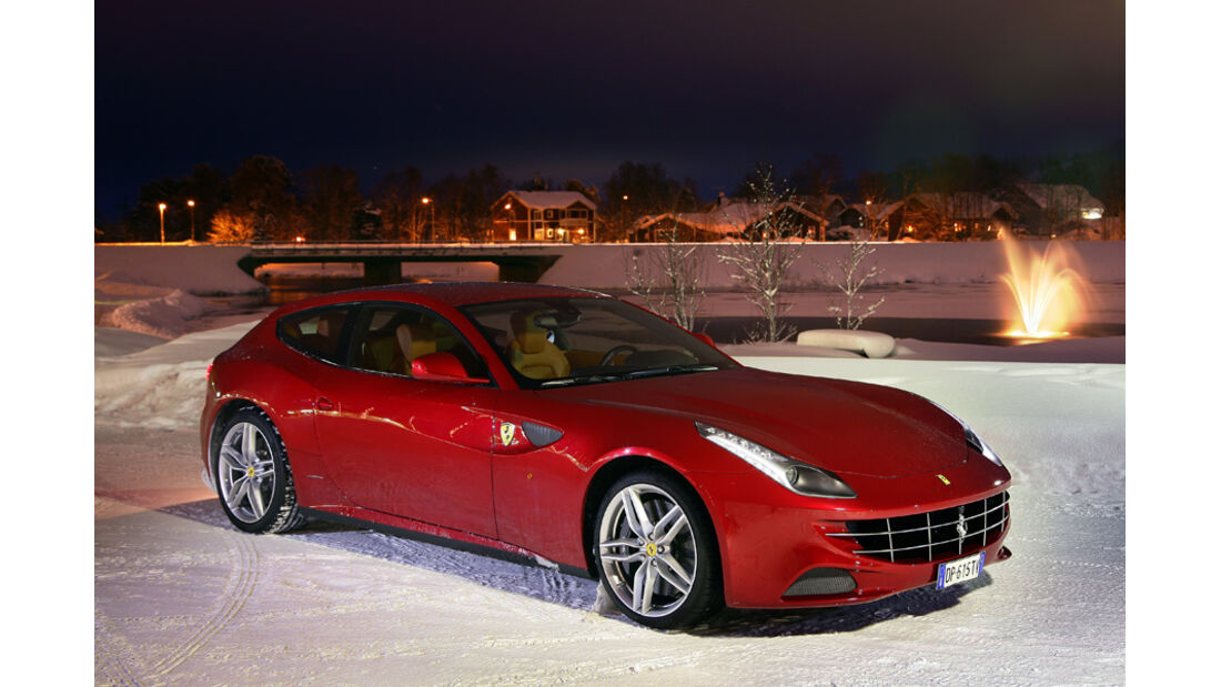 Ferrari FF, Seitenansicht