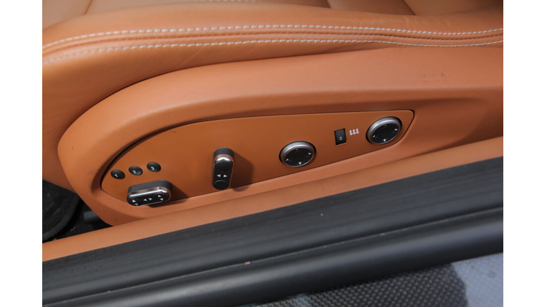 Ferrari FF, Sitzverstellung