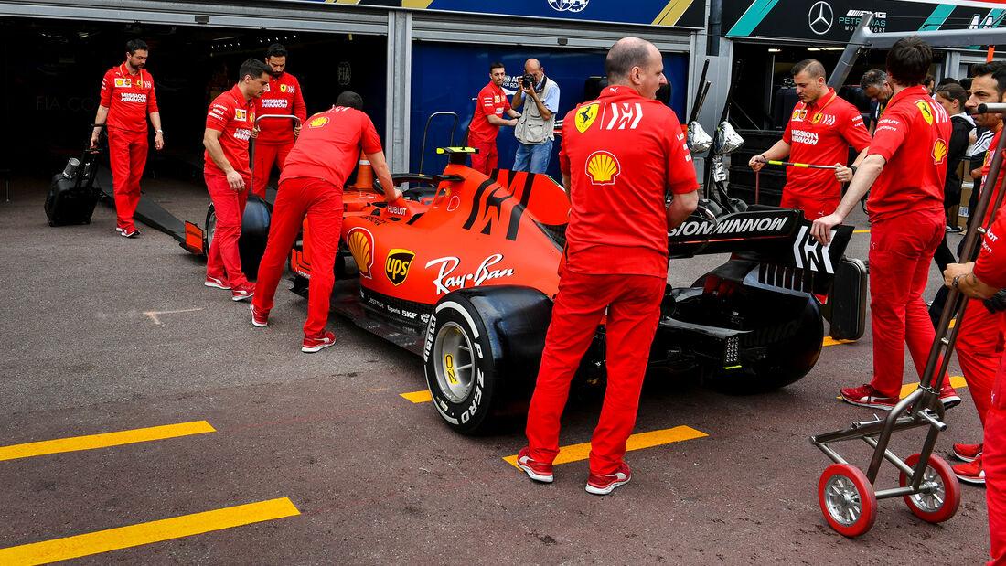 Ferrari - FIA-Scrutineering - GP Monaco 2019