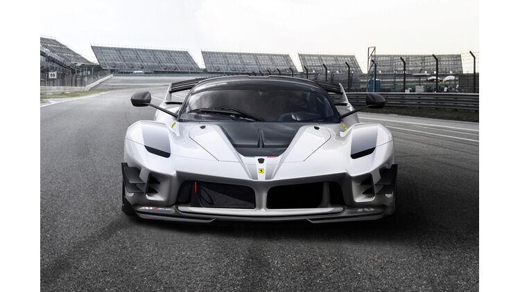 Ferrari Fxx K Evo Update Für Den 1 050 Ps Hyper Sportwagen Auto Motor Und Sport