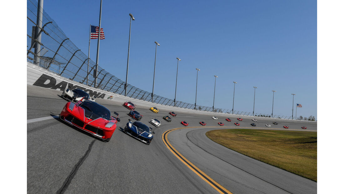 Ferrari FXX K - Finali Mondiali - Daytona