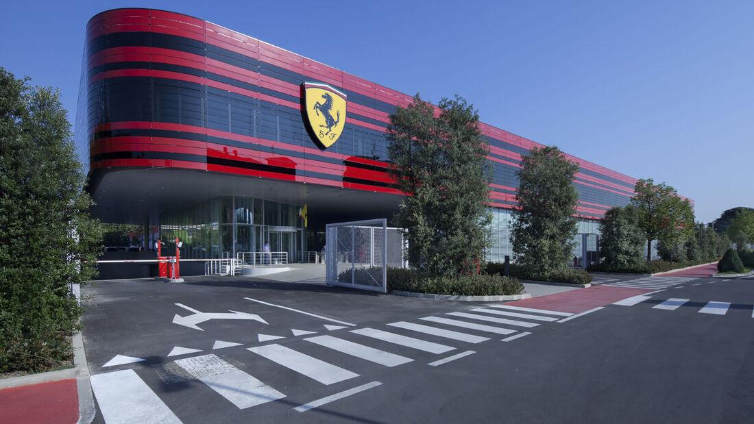 Ferrari-Fabrik - Maranello - 2021