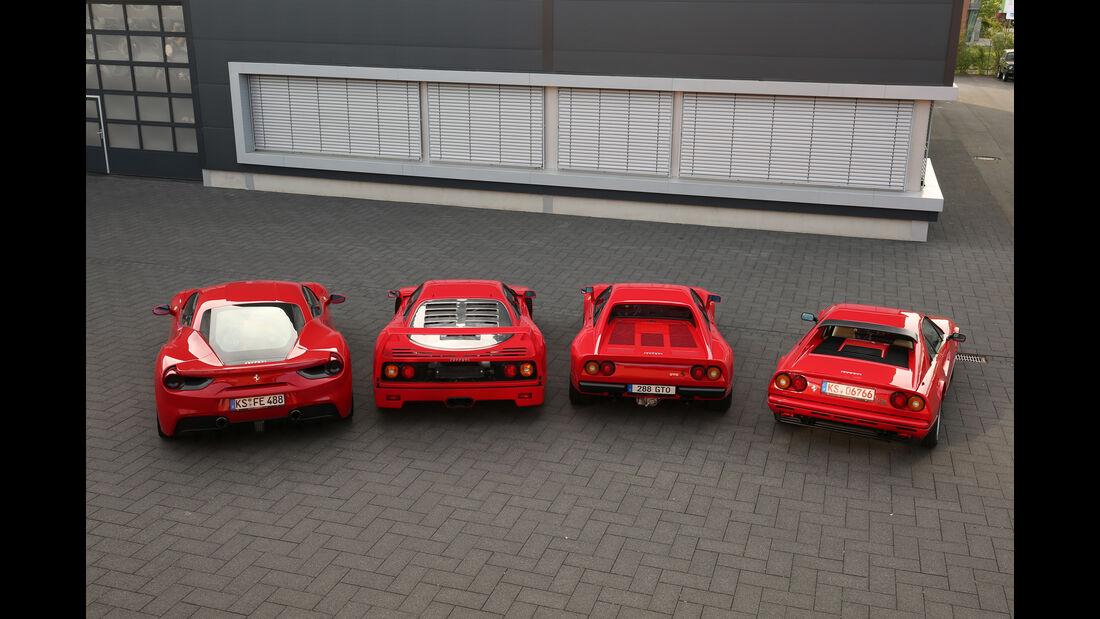 Ferrari, Familientreffen