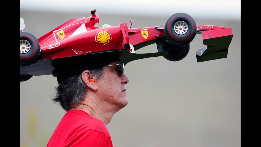 Ferrari-Fan F1 Fun Pics 2012