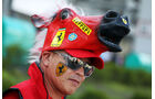 Ferrari-Fan - Formel 1 - GP Japan - 12. Oktober 2013
