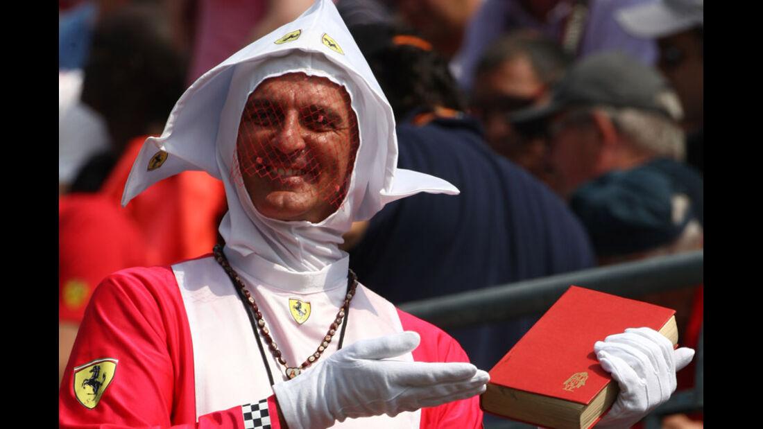 Ferrari-Fan - GP Italien - Monza - 10. September 2011
