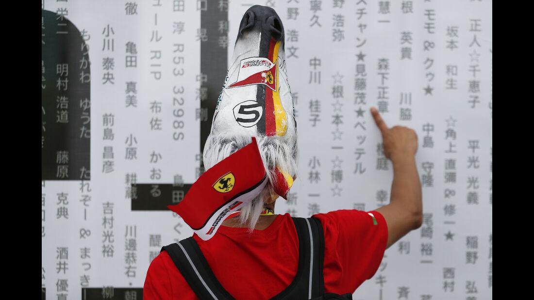 Ferrari-Fan - GP Japan 2015
