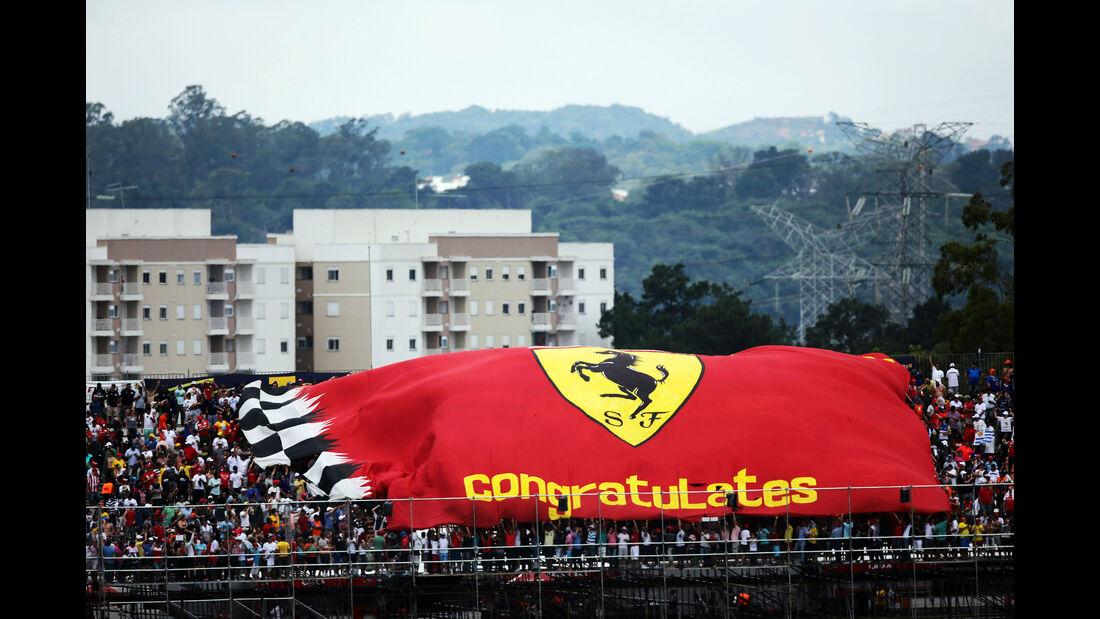 Ferrari Fans - Formel 1 - GP Brasilien- 15. November 2015