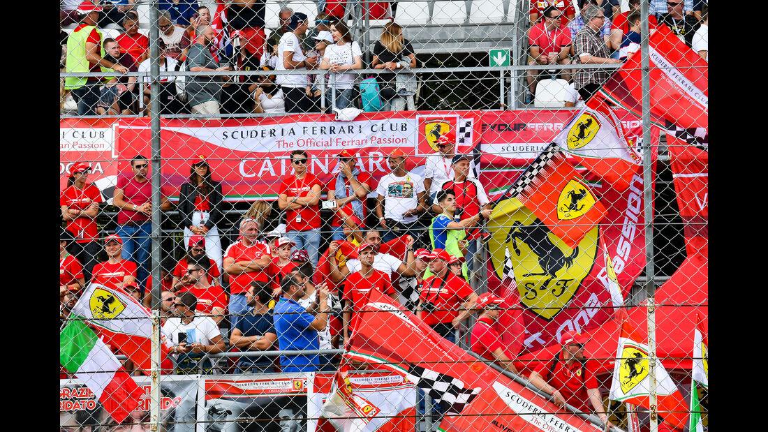 Ferrari-Fans  - Formel 1 - GP Italien - Monza - 7. September 2019