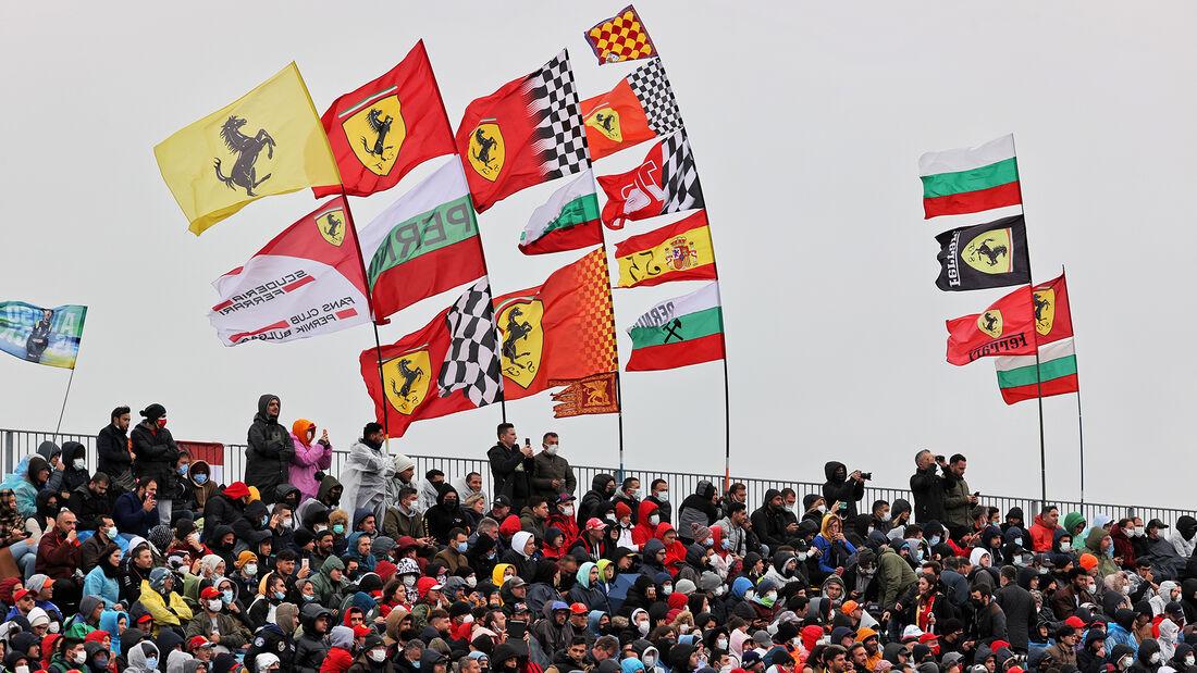 Ferrari-Fans - Formel 1 - GP Türkei 2021