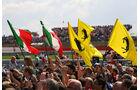 Ferrari-Fans GP England 2011 Rennen
