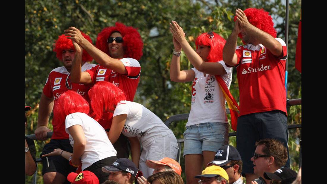 Ferrari-Fans - GP Italien - Monza - 10. September 2011