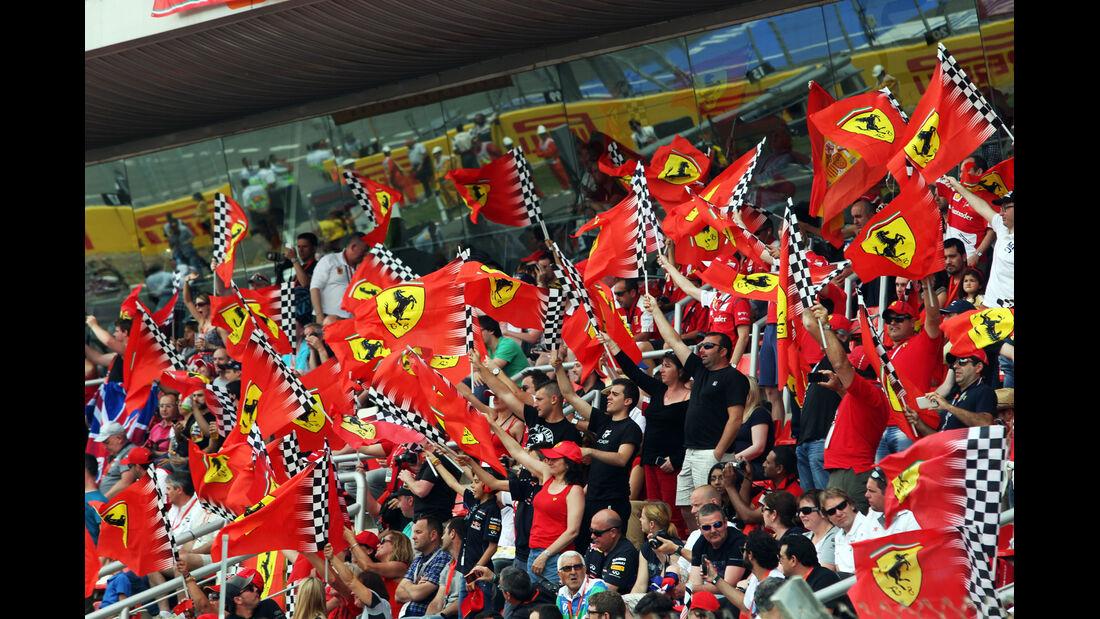 Ferrari-Fans - GP Spanien 2014