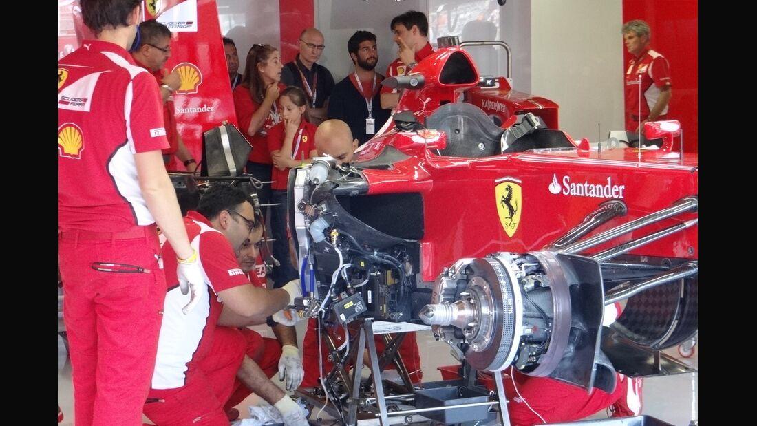 Ferrari Fernando Alonso - Formel 1 - GP Italien - 7. September 2012