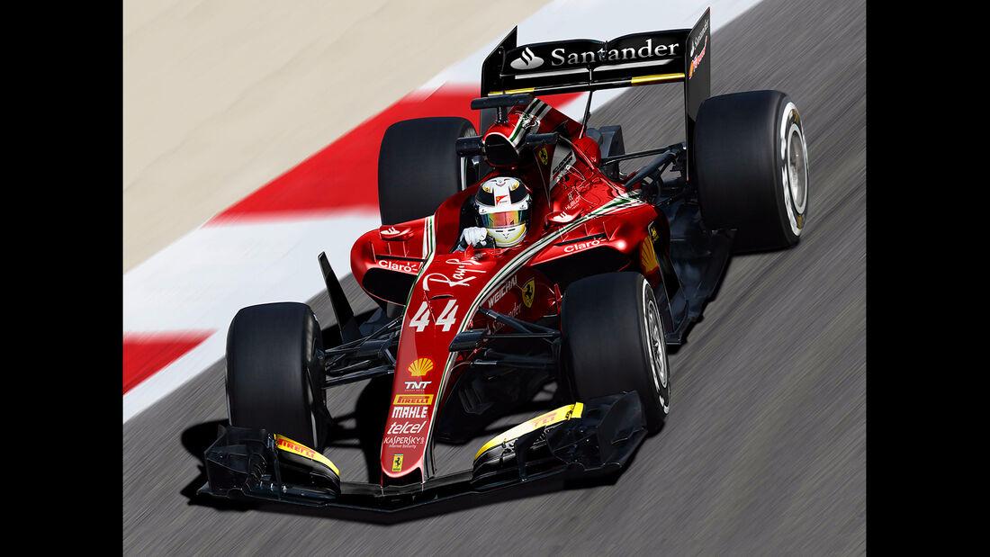 Ferrari - Formel 1 2017 - Designs - Sean Bull