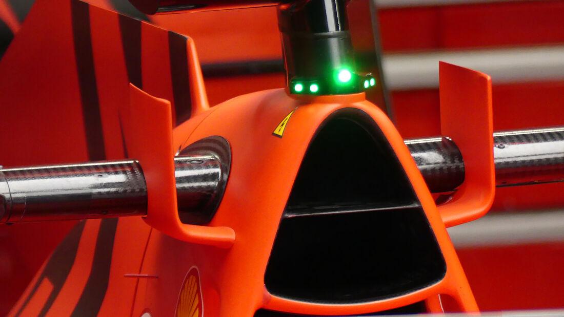 Ferrari - Formel 1 - 2020 - Technik-Trends