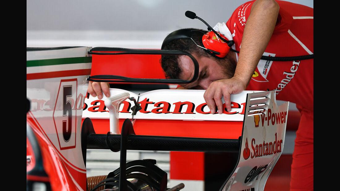 Ferrari - Formel 1 - Abu Dhabi - Test 2 - 29. November 2017
