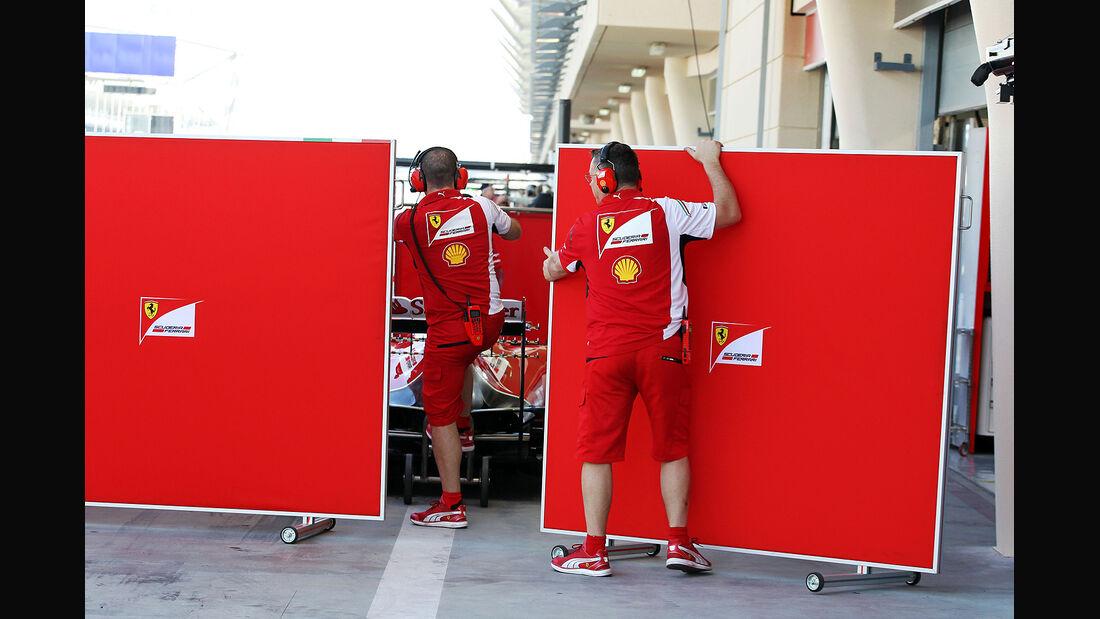 Ferrari - Formel 1 - Bahrain - Test - 21. Februar 2014