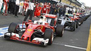 Ferrari - Formel 1 - Formcheck - GP Australien 2016