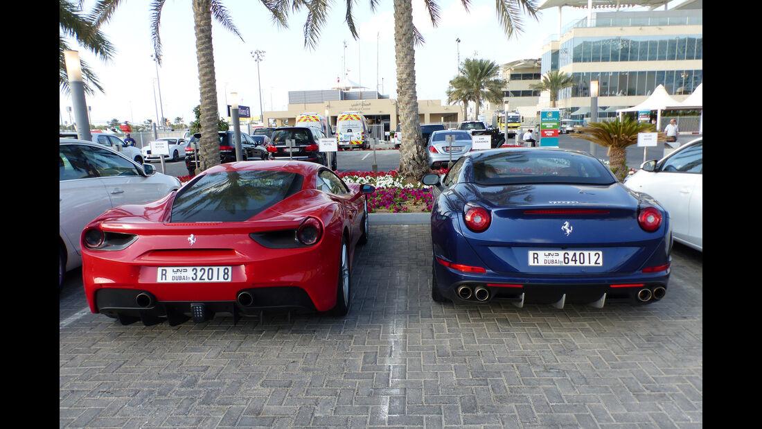 Ferrari - Formel 1 - GP Abu Dhabi - 27. November 2015