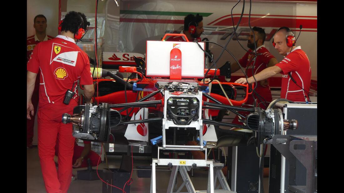 Ferrari - Formel 1 - GP Aserbaidschan 2017 - Baku - Donnerstag - 22.6.2017