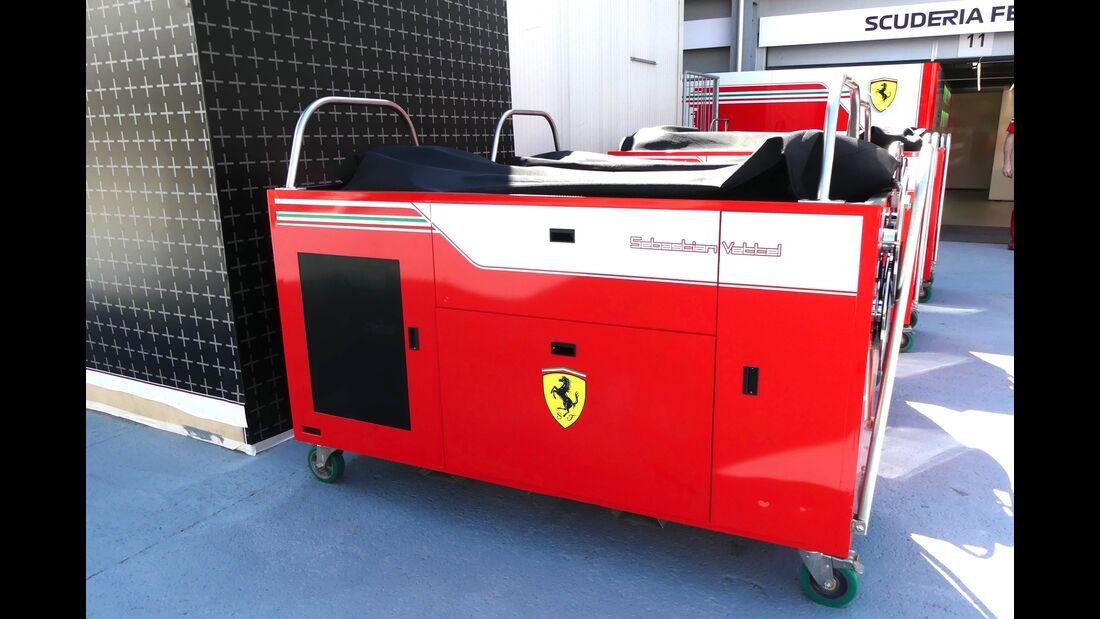 Ferrari - Formel 1 - GP Aserbaidschan - 26. April 2018