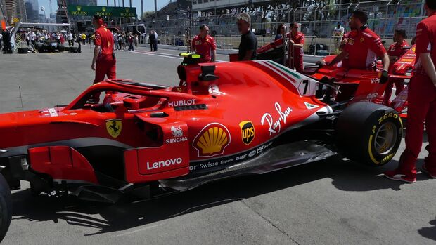 Ferrari - Formel 1 - GP Aserbaidschan - 27. April 2018