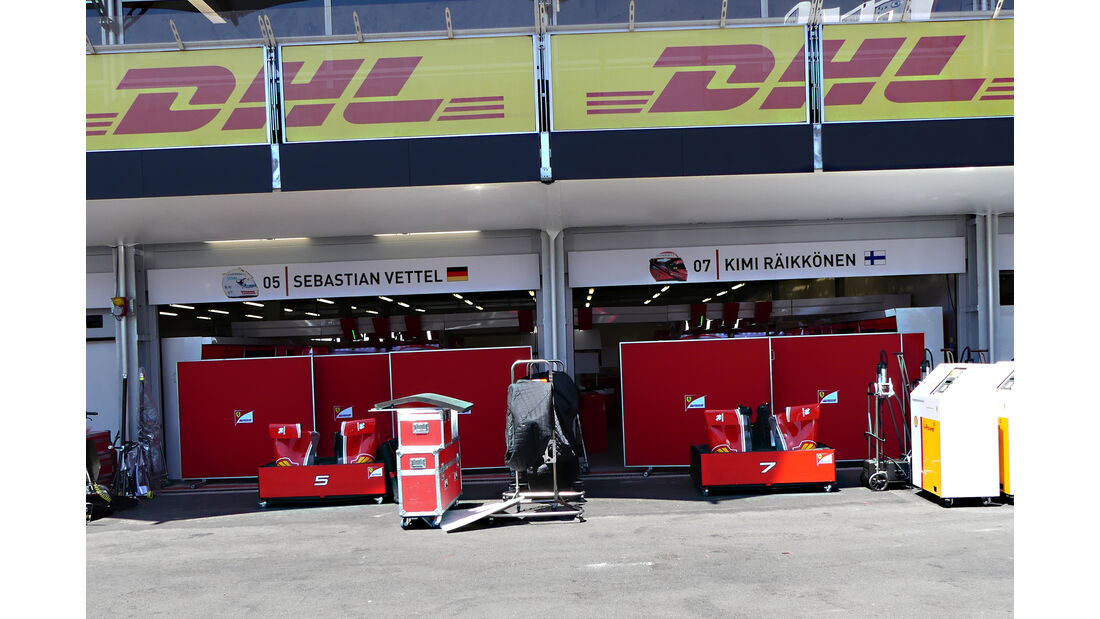 Ferrari - Formel 1 - GP Aserbaidschan - Baku - 15. Juni 2016