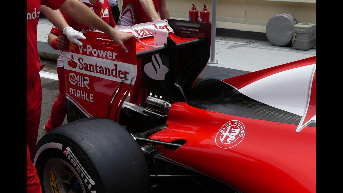 Ferrari - Formel 1 - GP Aserbaidschan - Baku - 17. Juni 2016