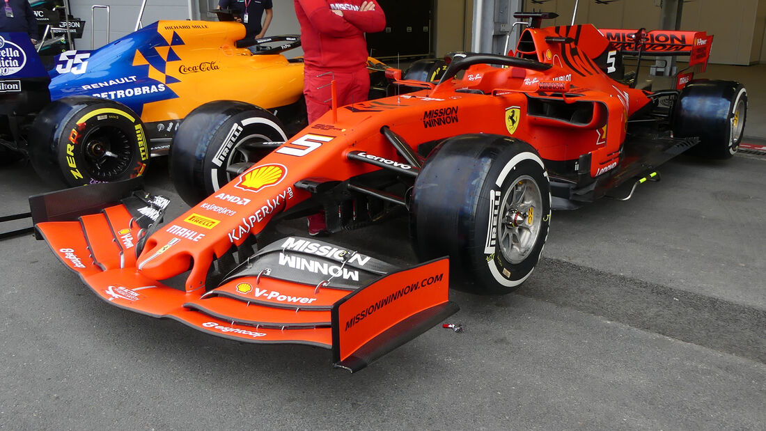 Ferrari - Formel 1 - GP Aserbaidschan - Baku - 25. April 2019