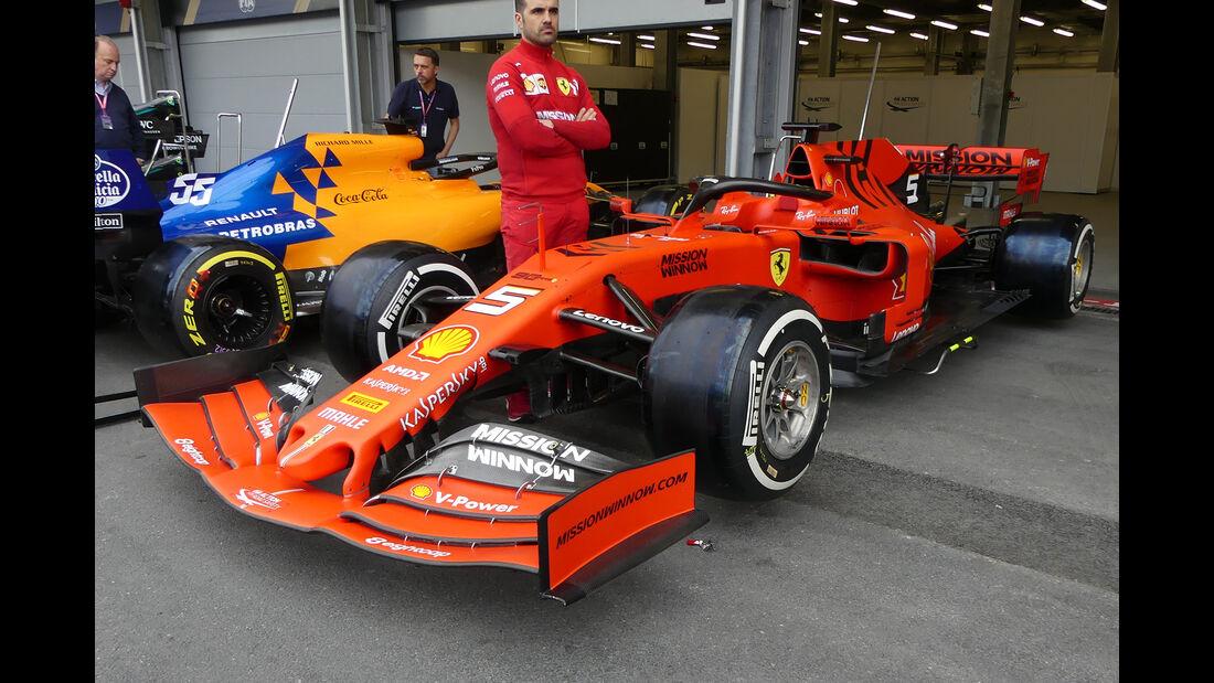 Ferrari - Formel 1 - GP Aserbaidschan - Baku - 25. April 2019
