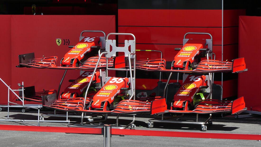 Ferrari - Formel 1 - GP Aserbaidschan - Baku - Donnerstag - 3.6.2021