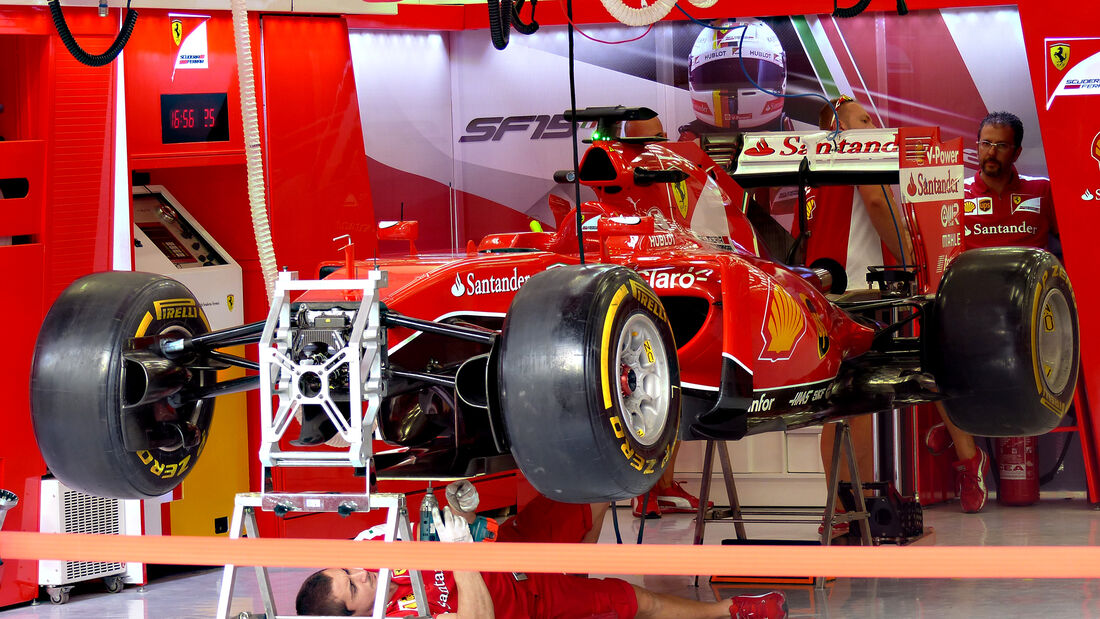 Ferrari - Formel 1 - GP Bahrain - 16. April 2015
