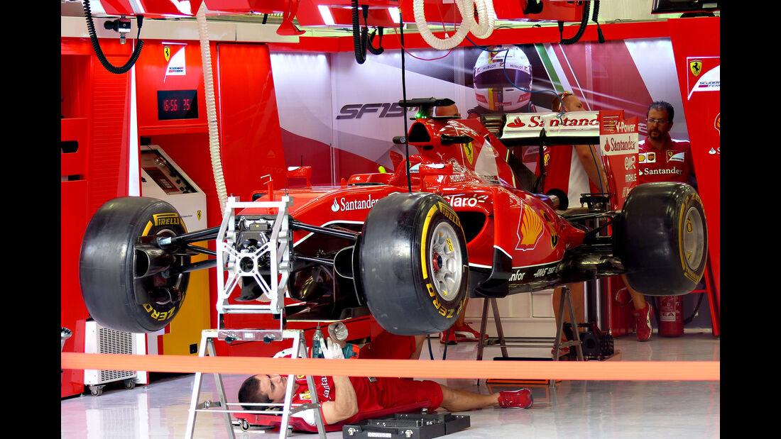 Ferrari - Formel 1 - GP Bahrain - 16. April 2015