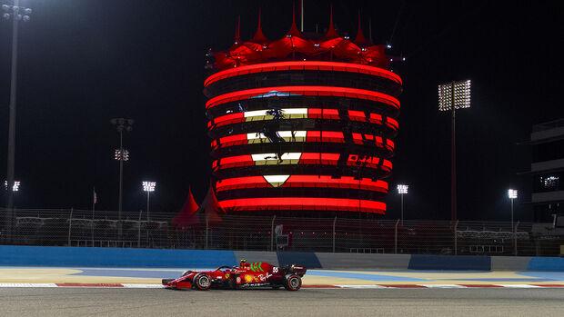Ferrari - Formel 1 - GP Bahrain 2021