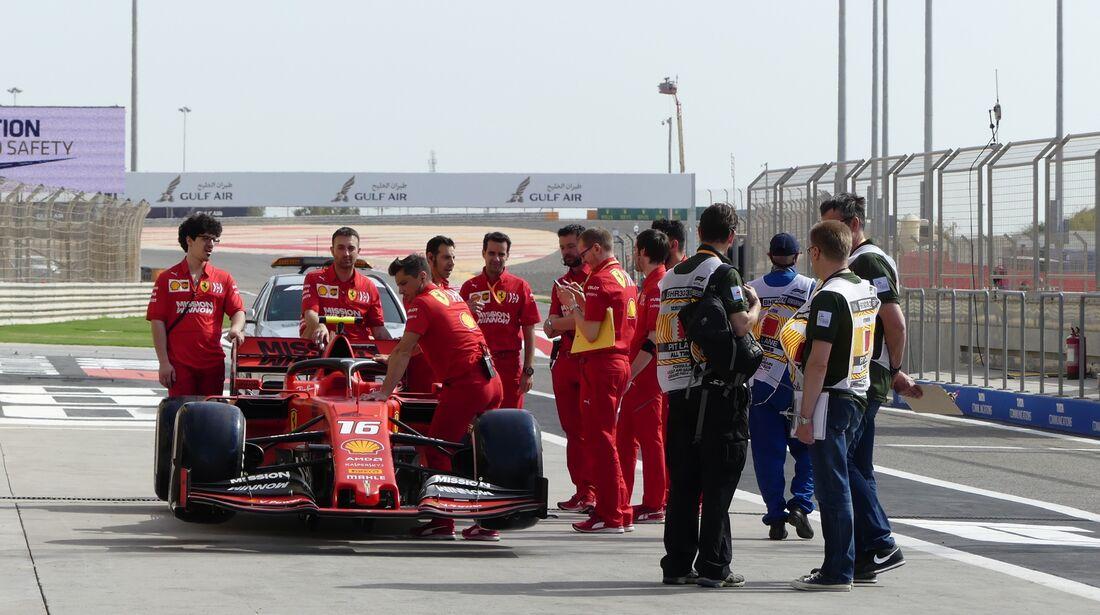 Ferrari - Formel 1 - GP Bahrain - 30. März 2019