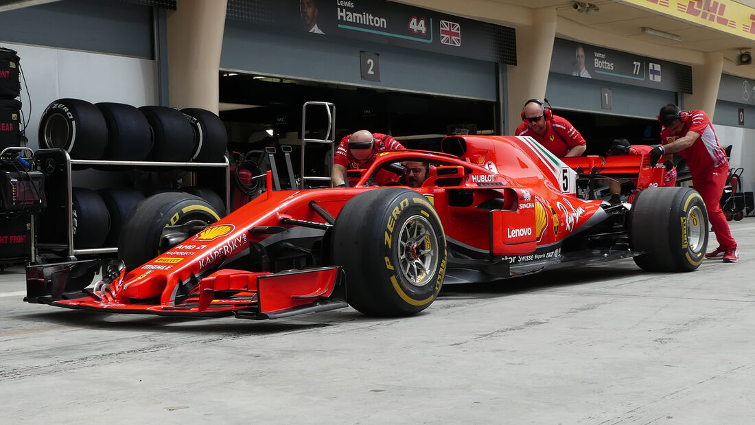 Ferrari - Formel 1 - GP Bahrain - 5. April 2018