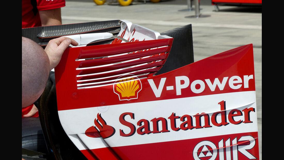Ferrari - Formel 1 - GP Bahrain - Sakhir - 4. April 2014