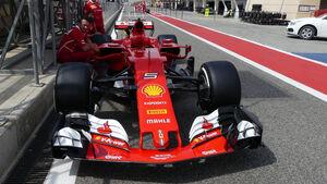 Ferrari - Formel 1 - GP Bahrain - Sakhir - Donnerstag - 13.4.2017