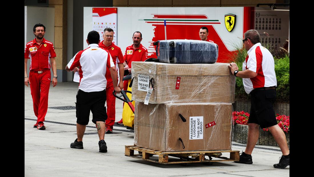 Ferrari - Formel 1 - GP Bahrain - Training - 6. April 2018