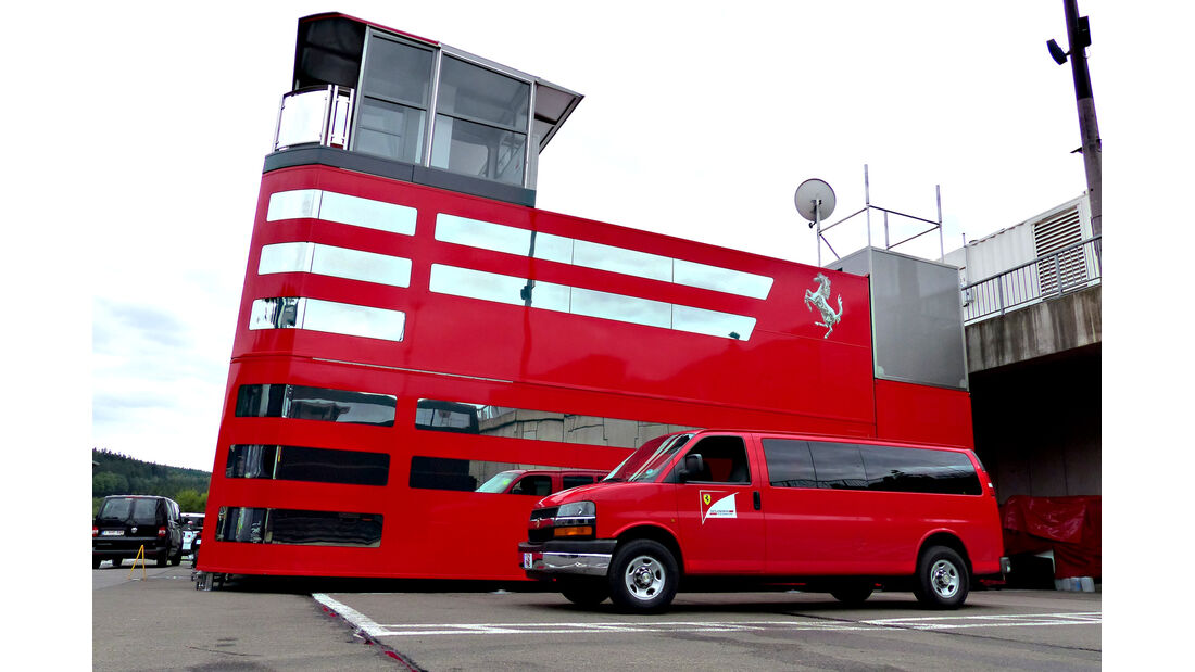 Ferrari - Formel 1 - GP Belgien - Spa-Francorchamps - 19. August 2015