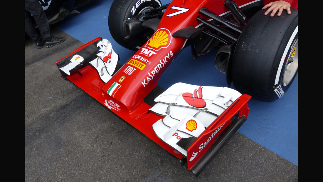 Ferrari - Formel 1 - GP Belgien - Spa-Francorchamps - 21. August 2014
